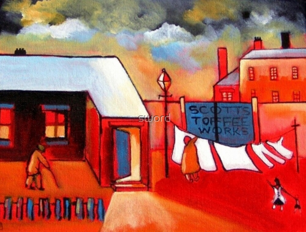 The  toffee works (from my  original acrylic painting by sword