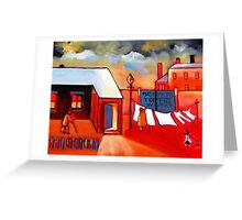 The  toffee works (from my  original acrylic painting Greeting Card