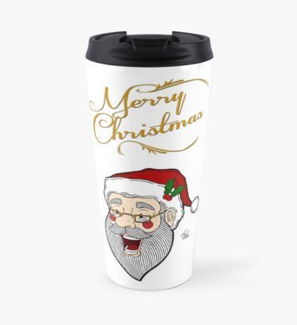 Santa - Merry Christmas Travel Mug