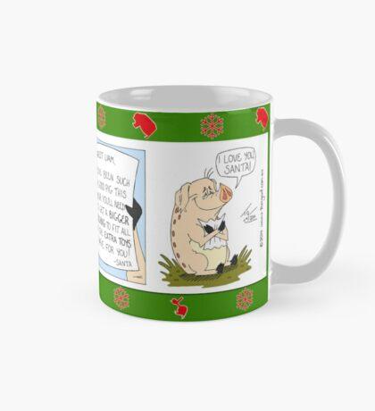 My Best Friend's A Ghost-Duck - Christmas Mug Mug