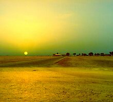 Desert sunrise, Failaka island Kuwait by NicoleBPhotos
