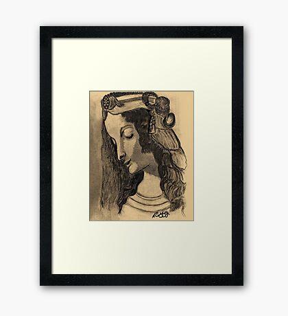 LEONARDO DA VINCI'S MAGDALENE Framed Print