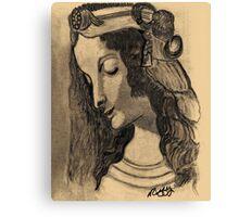 LEONARDO DA VINCI'S MAGDALENE Canvas Print