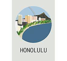 City Art Hawaii Honolulu Photographic Print
