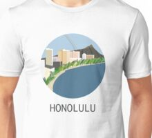 City Art Hawaii Honolulu Unisex T-Shirt