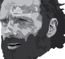 Rick Grimes Has Been Doing Thangs (T shirt) Sticker