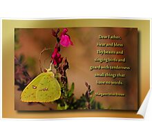 Nature Lover's Prayer Poster