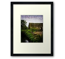 The Heartland - Vintage Art by Jordan Blackstone Framed Print