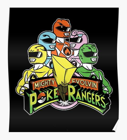 PokeRangers Poster