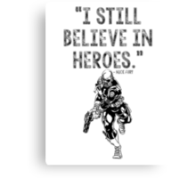 Avengers Nick Fury Canvas Print