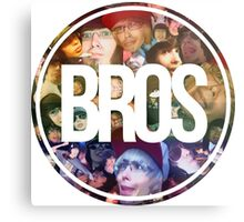 Bros Roxeles World Metal Print