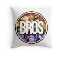 Bros Roxeles World Throw Pillow