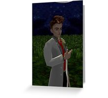The Doctor Brown Greeting Card
