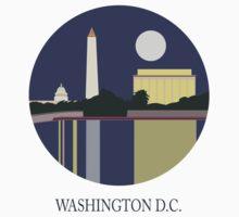 City Art Washington D.C T-Shirt