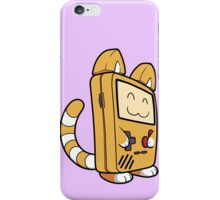 Game Boy Cat iPhone Case/Skin