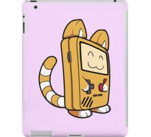 Game Boy Cat iPad Case/Skin