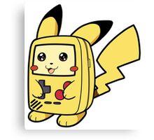Game Boy Pikachu Canvas Print