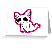 Ghost Cat Greeting Card