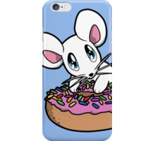Mouse with a Donut iPhone Case/Skin