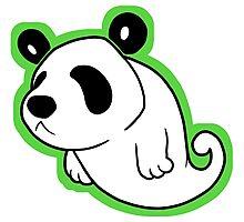 Ghost Panda Photographic Print