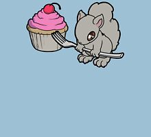 Little Squirrel with a Cupcake Unisex T-Shirt