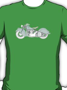 Indian Chief Motorcycle 1948  T-Shirt