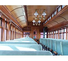 Old Passenger Train Photographic Print