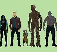 Guardians of the Galaxy by tandemsy