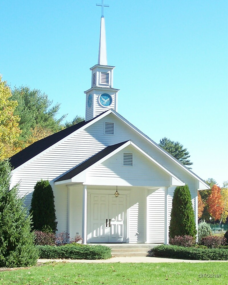Mountain Town Church by dmosher