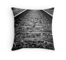 on the right track Throw Pillow