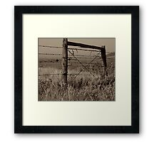 No Entry Framed Print