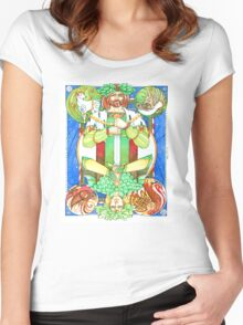 Oak and Holly Kings  Women's Fitted Scoop T-Shirt