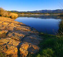 Provence lake landscape - 1 by Patrick Morand