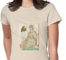 Tranquility. Womens Fitted T-Shirt