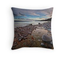 North Shore Nova Scotia Throw Pillow