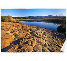 Provence lake landscape - 2 Poster