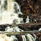 Iguaza Falls - in close by photograham