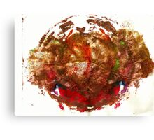 Glitter Abstract Canvas Print