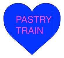 Pastry Train Heart 2 by Nat Crum