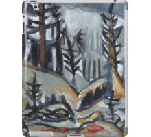 North Woods Mood(Based on a Watercolor by Charles E. Burchfield iPad Case/Skin