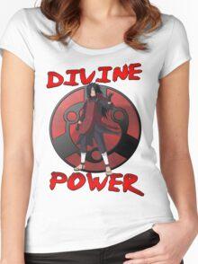 Madara Uchiha - Divine Power Women's Fitted Scoop T-Shirt