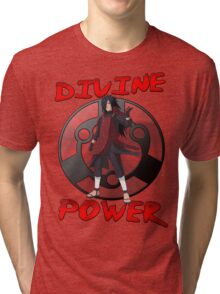Madara Uchiha - Divine Power Tri-blend T-Shirt