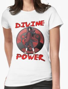 Madara Uchiha - Divine Power Womens Fitted T-Shirt