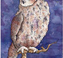 Great Horned Owl by TaylorRoseArt