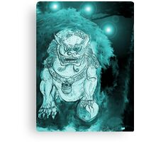Foo Dog 3 Canvas Print