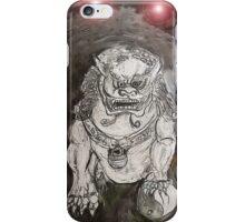 Foo Dog 4 iPhone Case/Skin