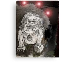 Foo Dog 4 Canvas Print