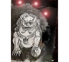 Foo Dog 4 Photographic Print