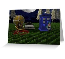 time travellers reunion Greeting Card