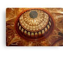 Flagler College Dome ~ Gilded Ceiling Metal Print